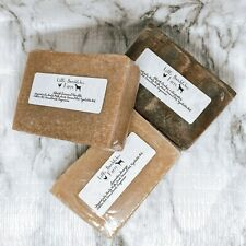 Handmade Goats' Milk Soap - Cold Process with Fresh Goat Milk - Pick Your Scent