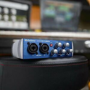 PreSonus AudioBox USB 96 2x2 USB 2.0 Audio Interface BLUE - for Electric Guitar