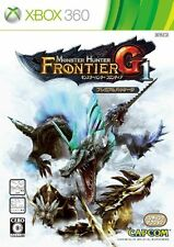 MONSTER HUNTER Frontier G1 Premium Package Xbox 360 4976219048651 Video Game