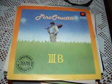 "PINO CRUCITTI "" III B - IO VADO VIA  ""  CANTAGIRO'78  ITALY'78"
