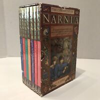 The Chronicles of Narnia C S Lewis 7 Volume Paperback Book Set
