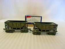 HO Scale Roundhouse Pair of 26' Ore Cars Denver & Rio Grande Western