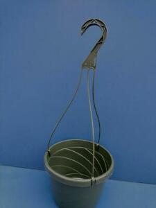 "Lot of 5 New 8""inch Euro Hanging Plastic Flower Nursery Pots Baskets"