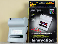 Super Gameboy Booster Plus - 3 in 1 converter - Playstation 1 Adapter Innovation