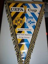 RARITÄT ! Schmuck-Wimpel UEFA-CUP B. Dortmund - Deportivo La Coruna  Fussball