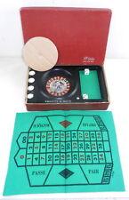 Shields Japan B/O Roulette-O-Matic Casino Gambling Wheel Game w Original Box T29