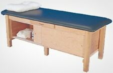 New Armedica Am-612 Wood Mat Treatment Table w/ Enclosed Cabinet
