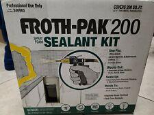 Froth Pak 200 Spray Foam Insulation Kit NEW EXPIRES 5/21