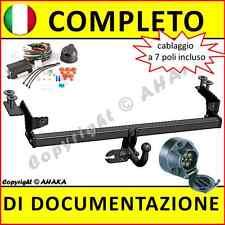 Gancio traino FIAT Punto II Hatchback 1999-2005 elettrico 7-poli omologazione
