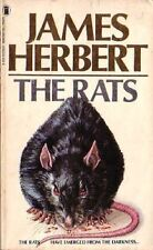 Complete Set Series - Lot of 3 Rats books by James Herbert (Horror) Ghost