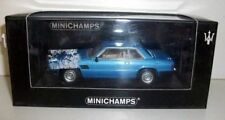 MINICHAMPS 1/43 - 400 123961 MASERATI KYALAMI 1982 - LIGHT BLUE METALLIC