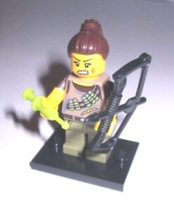LEGO MINI FIGURE SERIES 12 DINO DINOSAUR TRACKER LOOSE NO PACKAGE NO GUESSING!