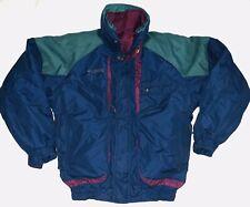 Columbia Jacket Mens Small Powder Keg Versatile Ski 3 In 1 Reversible Blue Green