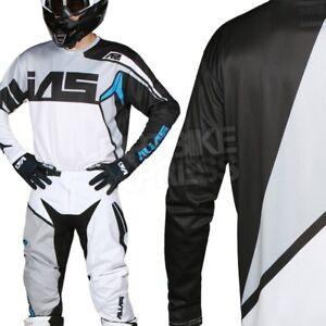 BRAND NEW YOUTH KIDS ALIAS A2 BURST MOTOCROSS MX KIT BLACK/GREY/WHITE 28W/XLARGE