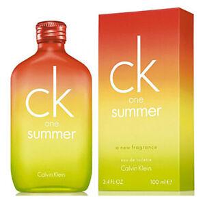 Calvin Klein Ck One Summer 2007 100 Ml Eau De Toilette Profumo Unisex 470