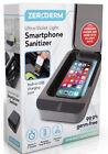 Zerogerm UltraViolet Light Smartphone Sanitizer Built-in USB Charger- New