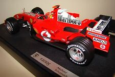 MICHAEL SCHUMACHER FERRARI 2005 F1 CAR - HOTWHEELS 1:18 SCALE