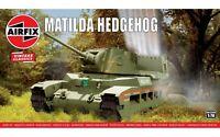 Airfix A02335V Matilda Hedgehog Tank 1:76 Plastic Model Kit New & Sealed