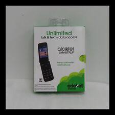 Alcatel - SMARTFLIP™ - Black (Cricket Wireless) (N)