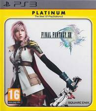 FINAL FANTASY XIII 13 PLATINUM GIOCO PS3 NUOVO UK