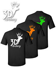 3D Archery Brand Short Sleeve T Shirt,Compound Bow,Recurve,Crossbow,Target,Camo