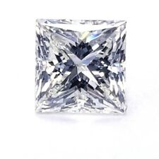 1 CT Princess Cut N Color VVS2 Clarity Natural Loose Diamond GIA Certified