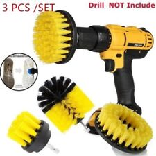Tile Grout Power Scrubber Electric Drills Brush Rotary Round Tub Cleaner Combo
