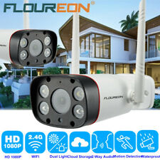 Wireless WIFI 1080P HD Outdoor IP Camera CCTV Security Dual Light IR Night IP66