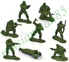 Set of Soldiers. Airborne Forces of Russia. VDV. 8 pcs. Figures.
