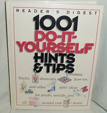 1001 Do-It-Yourself Hints & Tips  Reader's Digest