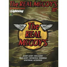 The Real McCoy's 2017 book leather flight deck jacket A 2 military vintage