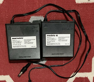 Two (2) Medela Pump In Style Power Supply Battery Pack Adapter 9017002
