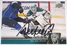 ANTTI NIEMI SIGNED 10-11 UPPER DECK SAN JOSE SHARKS CARD AUTOGRAPH AUTO!!