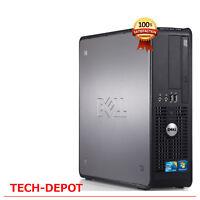 Dell Tower Desktop Computer PC Core 2 Duo 4GB RAM 1TB HARD DRIVE Windows 10 FAST