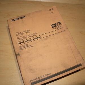 CAT Caterpillar 950G Wheel Loader Parts Manual Book list catalog spare 2JS front