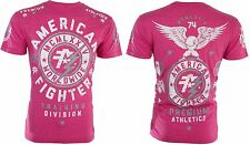 American Fighter Short Sleeve T-Shirt Mens MADISON Pink S-3XL NWT