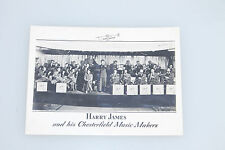 Vintage 1940's Harry James and his Chesterfield Music Makers photo