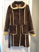 Wit & Wistom Faux Fur Coat Size 18