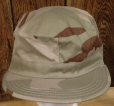 NWT DESERT CAMOUFLAGE COMBAT CAP us military style fitted hat ADULT XS 6-3/4 wow