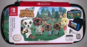 Nintendo Switch Game Traveler Travel Case Animal Crossing: New Horizons RDS NEW