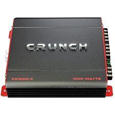 Crunch PX10004 Px Series 1000w 4ch Amplifier
