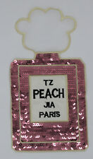 Peach Paris Perfume: Sequin Patch