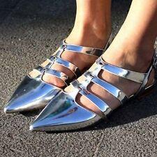 Zara Strappy, Ankle Straps Flats for Women