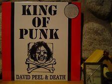 DAVID PEEL & DEATH King Of Punk LP/1978 New York Street Punk/KBD/Fugs/GG Allin