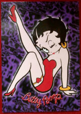 BETTY BOOP - Individual Card #31 - BETTY'S SIGNATURE RED HEART GARTER