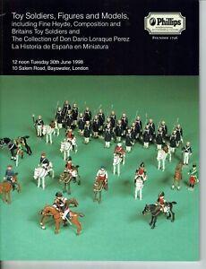 Phillips Auction Catalog, # T0195, June 1998, Hyde, Composition, Britains