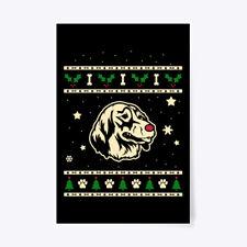 "Christmas Small Munsterlander Gift Poster - 24""x36"""