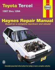 Repair Manual Haynes 92085 fits 87-94 Toyota Tercel