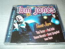 """COFFRET 2 CD """"TOM JONES - LAS VEGAS SHOW"""" double disque d'or"""