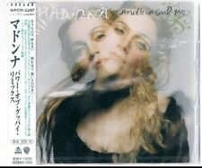 Madonna Power of Goodbye Remixes Japan CD Sealed WPCR-2297 Ray of Light Promo X